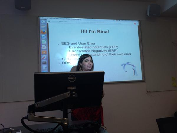 Rina Wehbe at the Tool Design Jam