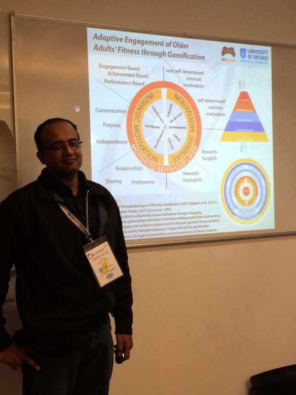 Dennis Kappen at the Doctoral Consortium